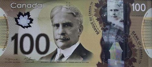 加拿大发行塑料钞票