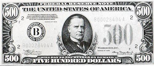 1美元纸币; 美元钞票图片;