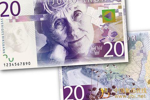 被称之为文化之旅的新瑞典纸币