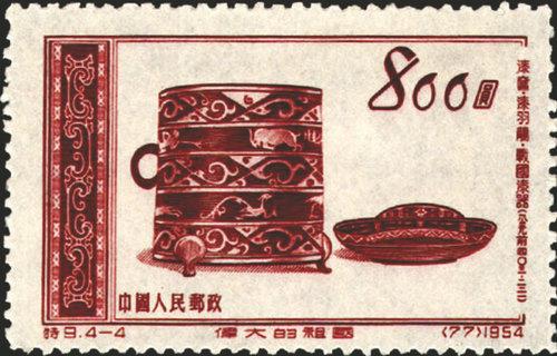 凤纹器物传奇用邮票记录